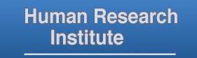 Human Research Institute logo